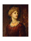 Portrait of Dorothy Dene, Bust Length Giclee Print by George Frederic Watts
