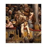 Spectacle Gratis, Avant Scene Giclee Print by Joseph-Louis Hippolyte Bellange