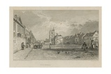 General View of Bow Giclee Print by Sir Augustus Wall Callcott