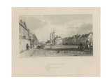 General View of Stratford in Bow Giclee Print by Sir Augustus Wall Callcott