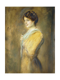 Portrait of Grafin Ilse Seilern, Three-Quarter Length Giclee Print by Franz Seraph von Lenbach