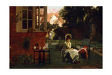 In the Shade, 1879 Giclee Print by Marcus Stone