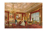 The Rubens Room, Windsor Castle Giclee Print by Robert Dudley