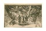 Fireworks for the Coronation of William and Mary Giclee Print