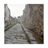 Pompeii Street Giclee Print