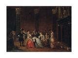La Main Chaude Giclee Print by Hieronymus Janssens
