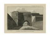 Gateway of King John's Palace Giclee Print by T. Prattent