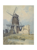 The Mill, St Benet's Abbey, C.1820 Giclee Print by John Sell Cotman