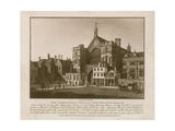 The Northwest View of Westminster Hall Giclee Print by Thomas Sandby