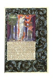 Lavinia, Opening of Book IV of Virgil's 'Aeneid' Giclee Print
