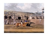 Derby Day at Epsom, 1828 Giclee Print by James Pollard