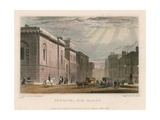 General View of the Old Bailey Giclee Print by Thomas Hosmer Shepherd