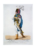 Mr Braham in the Character of Orlando from 'As You Like It', 1802 Giclee Print by Robert Dighton