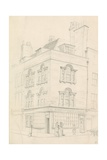House at the Corner of Red Lion Street and Theobalds Road, Facing Lamb's Conduit Street, London Giclee Print by John Phillipp Emslie