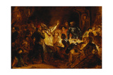 The Murder of the Bishop of Liege Giclee Print by Eugene Delacroix