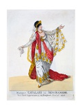 Madame Catalani in the Title Role of Semiramide, 1806 Giclee Print by Robert Dighton