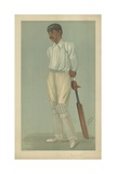 Kumar Shri Ranjitsinhji Giclee Print by Sir Leslie Ward