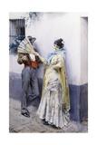 Flirtation, 1885 Giclee Print by Anders Leonard Zorn