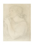 Study of Fanny Cornforth, 1863 Giclee Print by Dante Charles Gabriel Rossetti