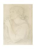 Study of Fanny Cornforth, 1863 Giclee Print by Dante Gabriel Rossetti