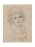 Portrait of a Lady, C.1790 Giclee Print by Richard Cosway