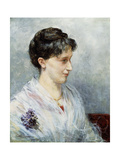 Portrait of Maria (Mizi) Waern, 1885 Giclee Print by Ernst Josephson
