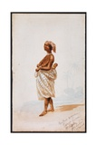 Native Woman, Sierra Leone Giclee Print by Thomas Baines