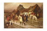The End of the 45', 1878 Giclee Print by William Brassey Hole