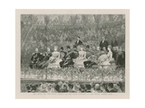 The Shah and the Royal Family at the State Concert at the Royal Albert Hall Giclee Print