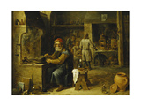 The Alchemist Giclee Print by David the Younger Teniers