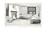 Une Chambre De Lodging-House, Illustration from 'La Rue a Londres', Pub. by G. Charpentier Et… Giclee Print by Auguste Andre Lancon