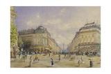 La Rue De La Paix, Paris, 1886 Giclee Print by Franz Alt