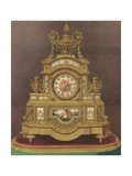 Timepiece Presented by the Members of the Household of Hrh the Prince of Wales Giclee Print by Robert Dudley