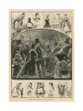 International Peasant Festival at the Royal Albert Hall Giclee Print
