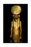 Seated Figure of the Goddess Sekhmet from the Tomb of Tutankhamun Giclee Print