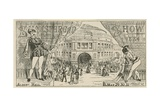 Shakespearen Show at the Royal Albert Hall Giclee Print
