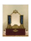 Dressing Case, Presented by the Ladies and Gentlemen of Her Majesty's Household Giclee Print by Robert Dudley