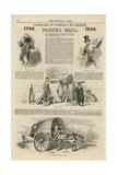 Page from the Pictorial Times Giclee Print
