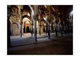 The Interior of the Great Mosque at Cordoba Giclee Print