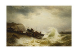 The Dover Lifeboat Giclee Print by Theodore Weber