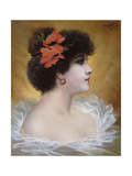A Fair Beauty Giclee Print by Agapit Stevens