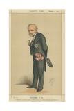 The Chevalier Charles Cadorna Giclee Print by Carlo Pellegrini