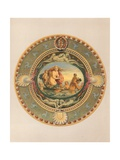 Plateau in Majolica Ware, Presented by the Earl of Mount Edgecumbe Giclee Print by Robert Dudley