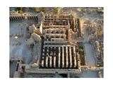 Aerial View of Karnak Great Hypostyle Hall and the Obelisk of Tuthmosis II Giclee Print
