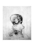 Mary 'Perdita' Robinson Giclee Print by John Hoppner