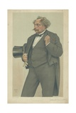 M Alexandre Dumas Fils Giclee Print by Theobald Chartran