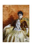 Portrait of Lisen Lamm, 1885 Giclee Print by Anders Leonard Zorn