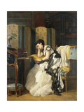 Nostalgia, 55.8 X 44Cm Giclee Print by Charles Baugniet