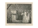 The Queen Laying the Foundation Stone of the Royal Albert Hall Giclee Print