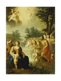The Baptism of Christ Giclee Print by Balthasar Beschey